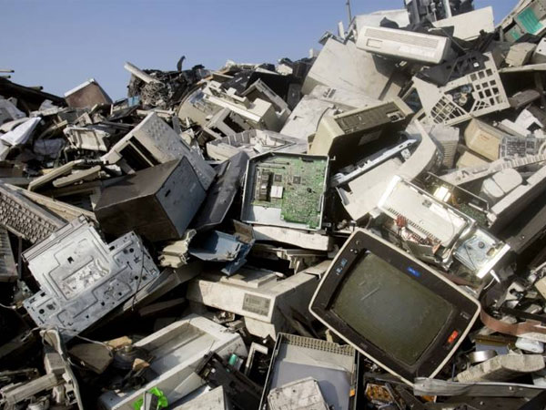 E-waste in India and developed countries